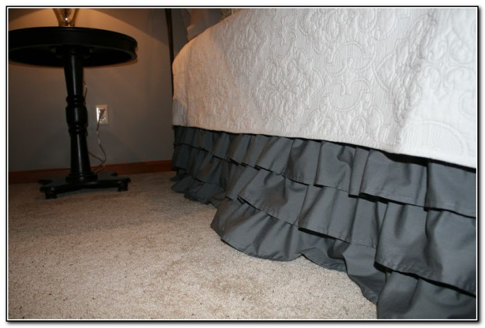Diy Ruffled Bed Skirt