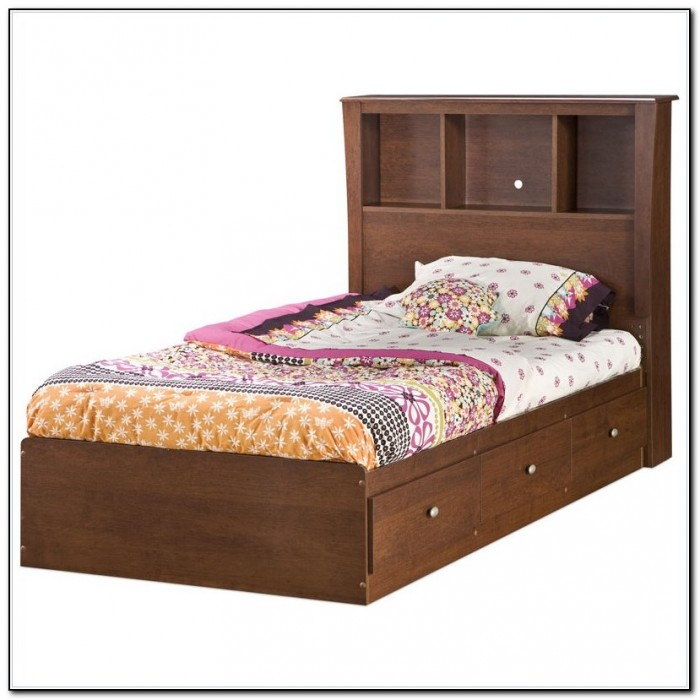 Kids Twin Bed With Storage