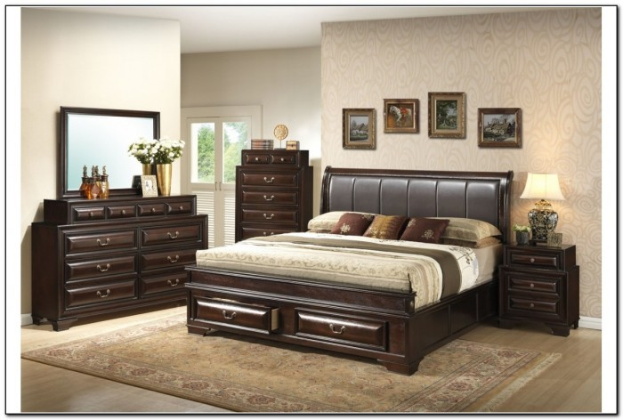 King Size Storage Bedroom Sets