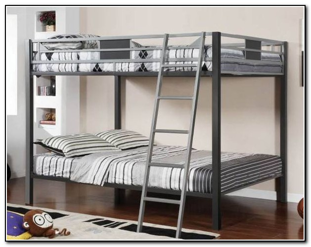 Metal Loft Bed With Stairs