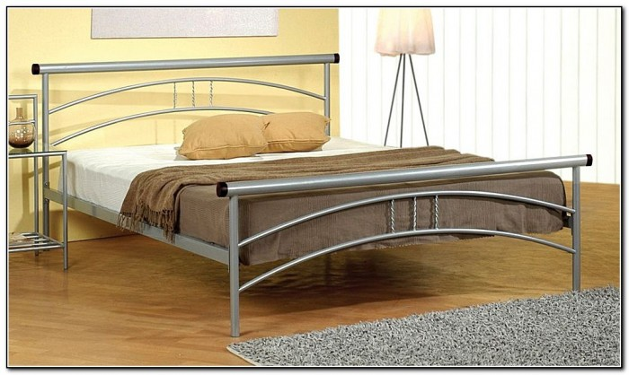 silver bed frame queen lunar silver metal platform bed beds home design ideas 5212