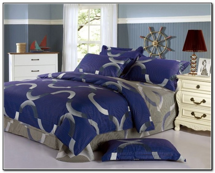Navy Blue Bedding For Girls