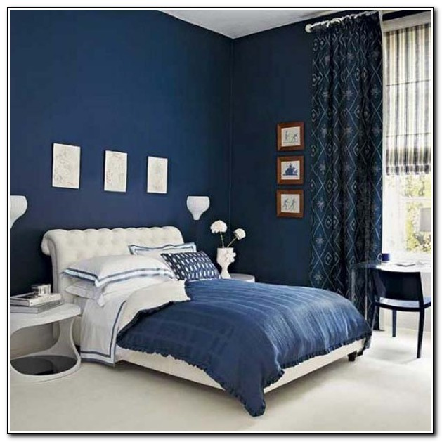 Navy Blue Bedding Ideas