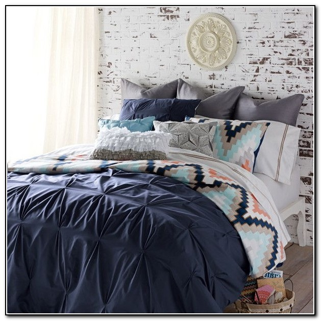 Navy Blue Bedding Sets Queen