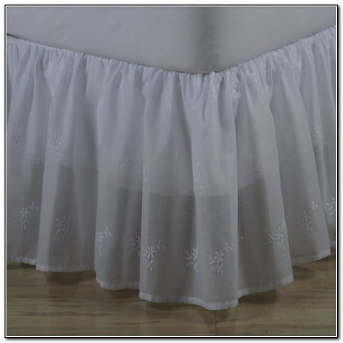Ruffled Bed Skirt Pattern