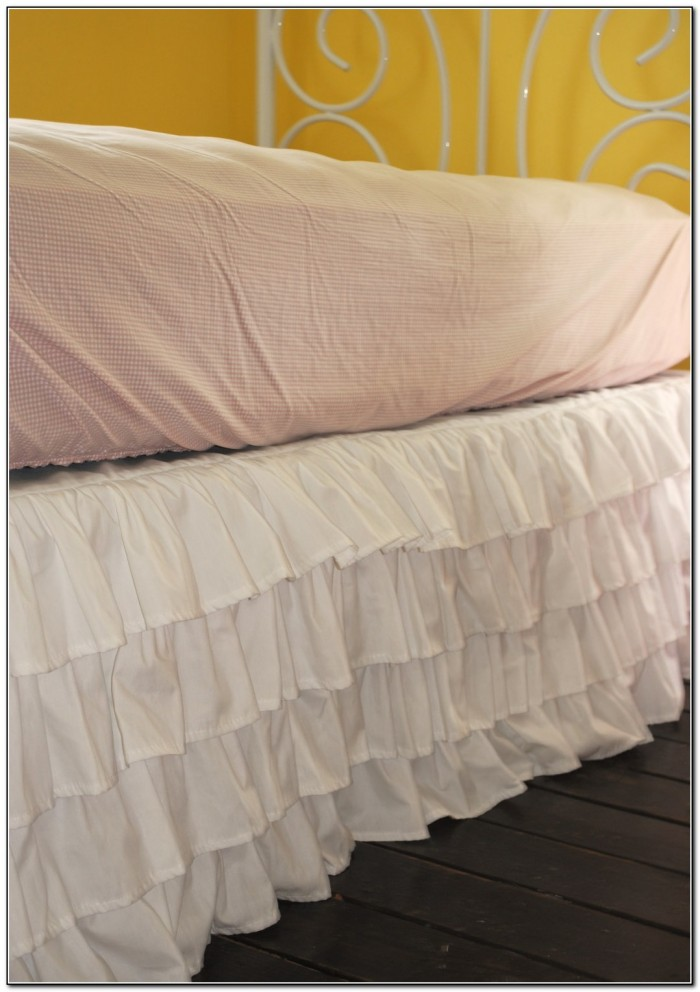 Ruffled Bed Skirt Twin