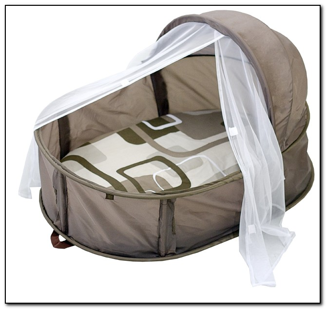 Small portable baby bed beds home design ideas for Portable bed ideas