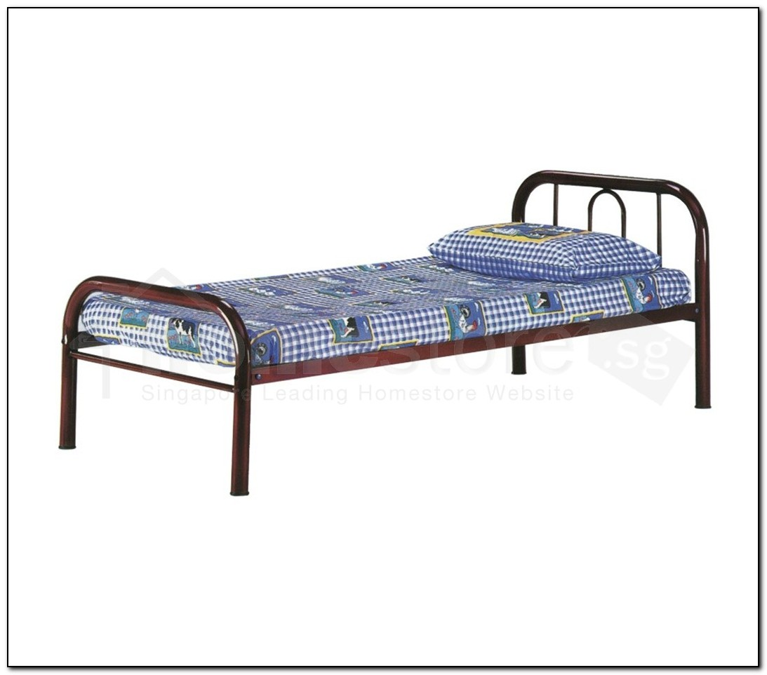 Steel Bed Frame Singapore