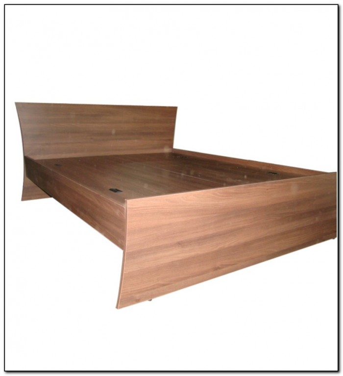 Storage Bed Queen Solid Wood