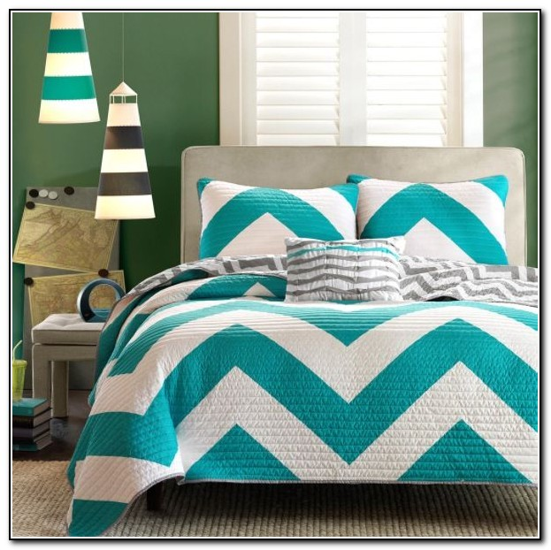 chevron bedroom decor grey and teal bedding sets beds home design ideas 11075