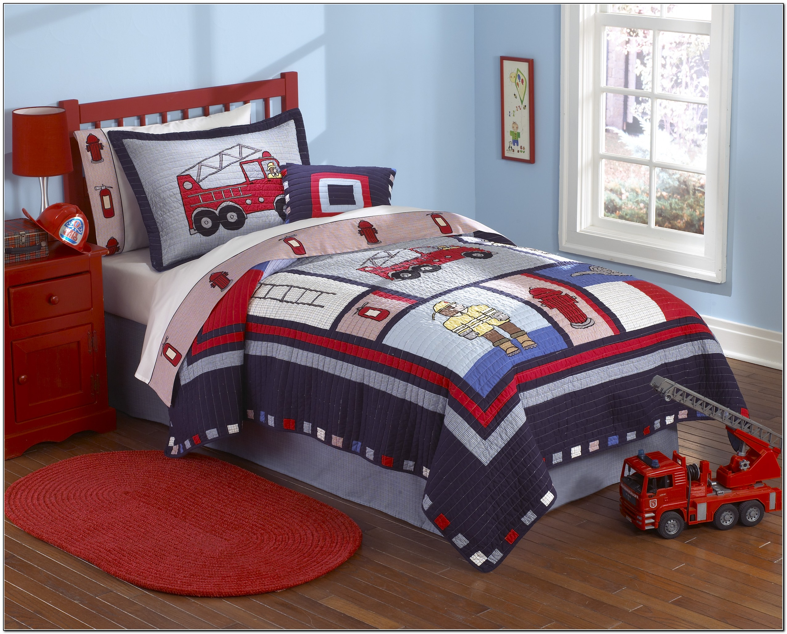 Toddler boy bedding sets trucks beds home design ideas drdkaxopwb12013 - Toddler beds for boys ...