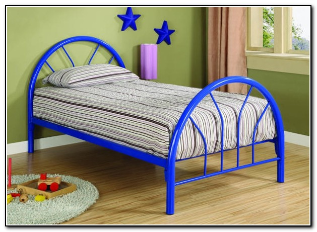 Twin Metal Bed Frame Big Lots Beds Home Design Ideas