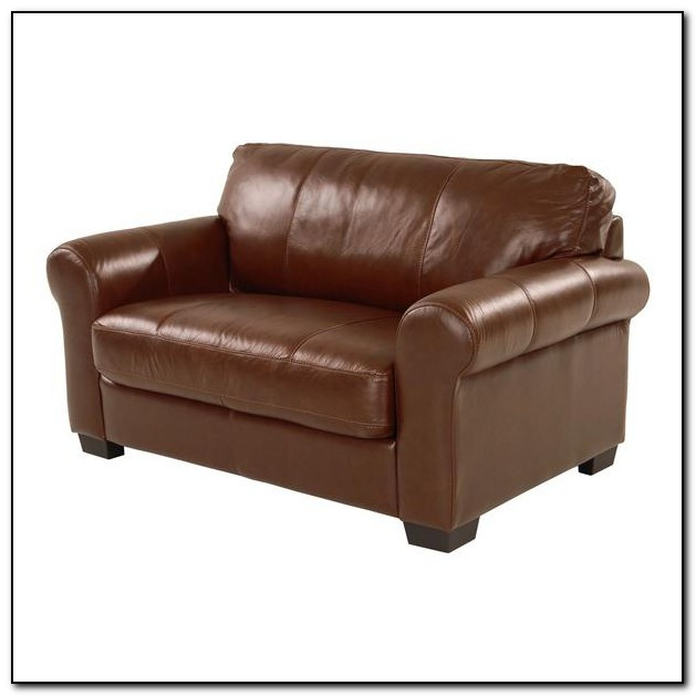 Twin Sofa Bed Leather