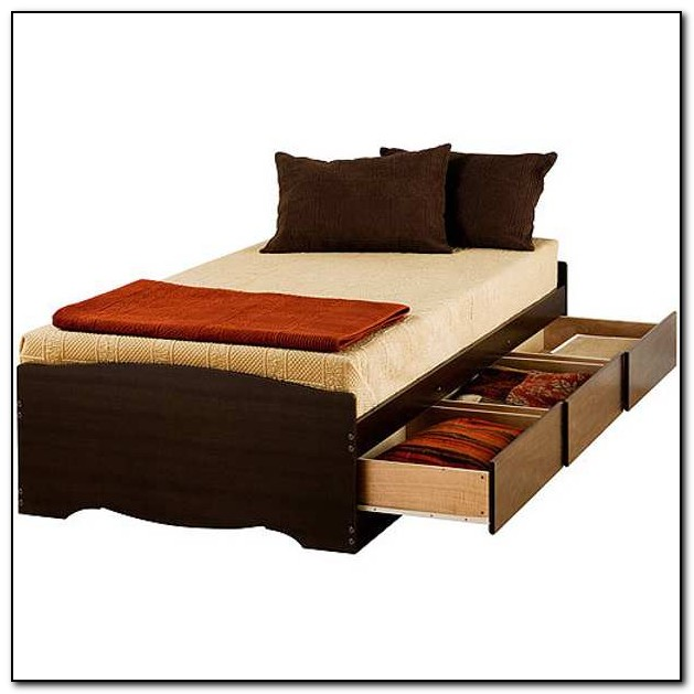 Twin Xl Bed With Storage