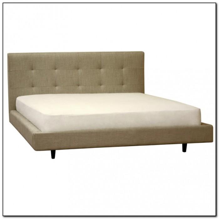 Upholstered King Bed Frame