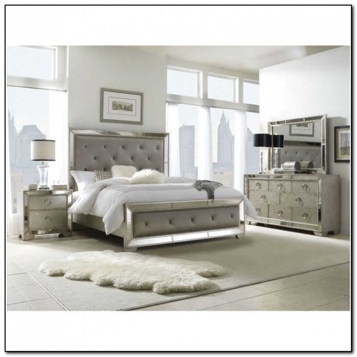 Upholstered King Bedroom Sets