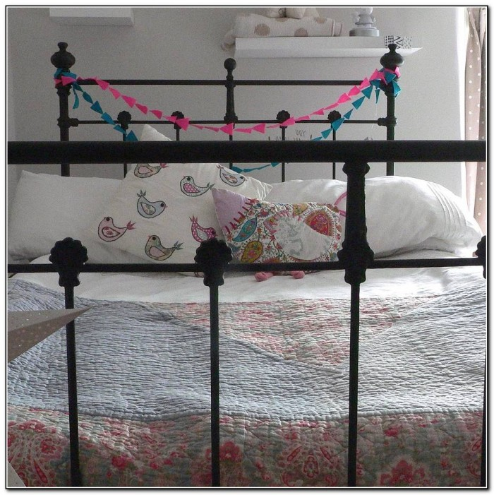 Antique Iron Bed Frame Full Size