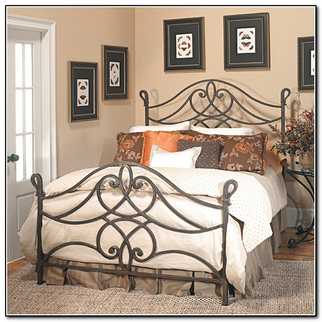Antique Iron Bed Frame Queen