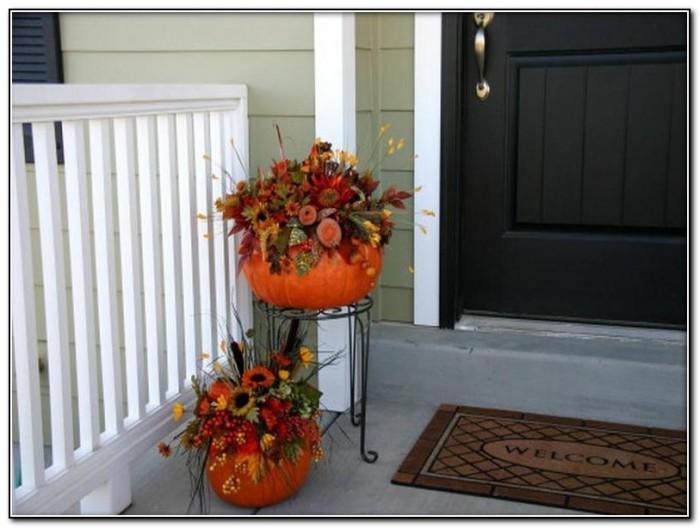 Autumn Front Porch Decorating Ideas