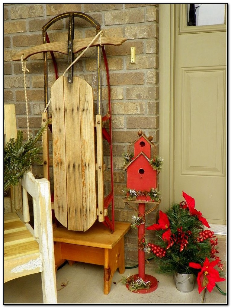 Christmas Front Porch Decorating Ideas