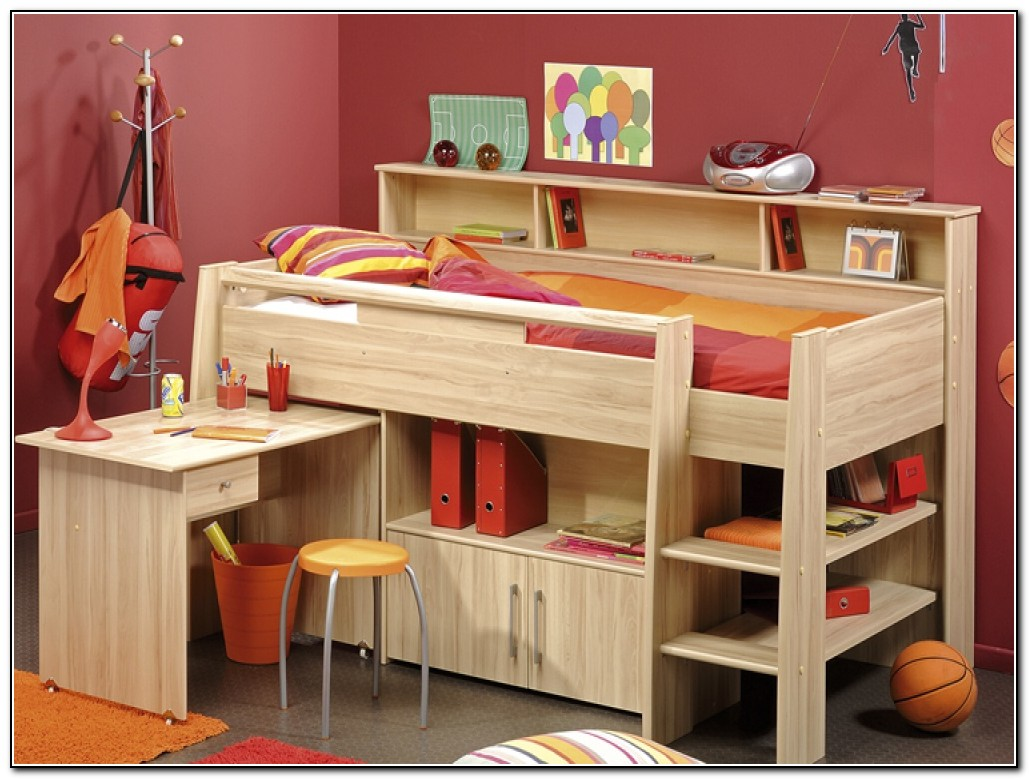 Cool Kids Beds With Storage Beds Home Design Ideas
