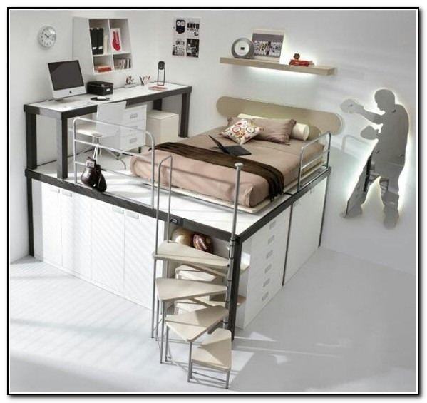 Cool Loft Beds With Stairs