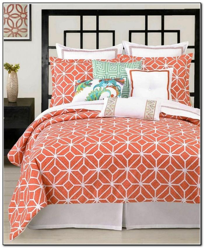 'Coral Aqua Grey Chevron Pattern' Throw Pillow by ...