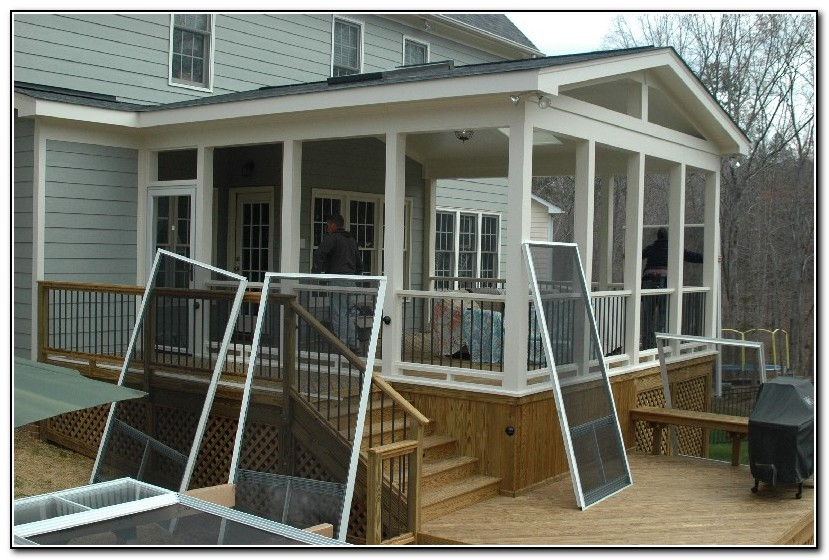 deck screen porch ideas - Screen Porch Ideas Designs