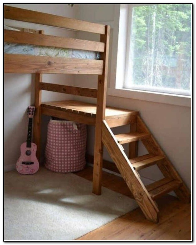 Diy Bunk Bed Stairs
