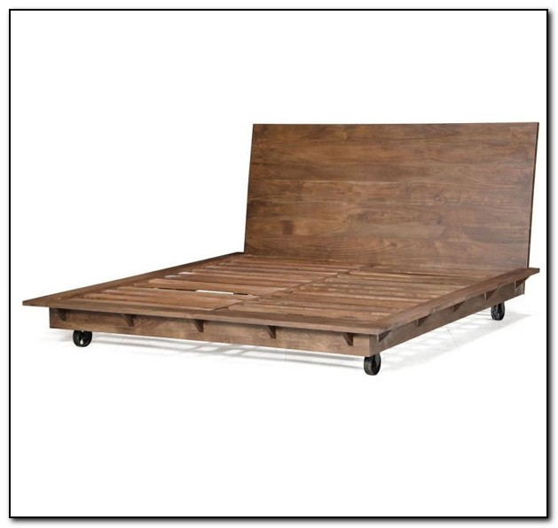 Diy Platform Bed Frame King