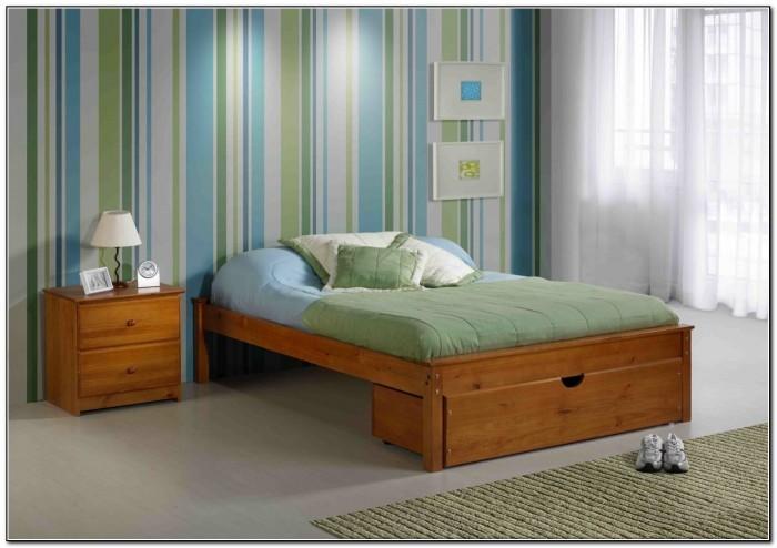 Diy Platform Bed Frame With Trundle
