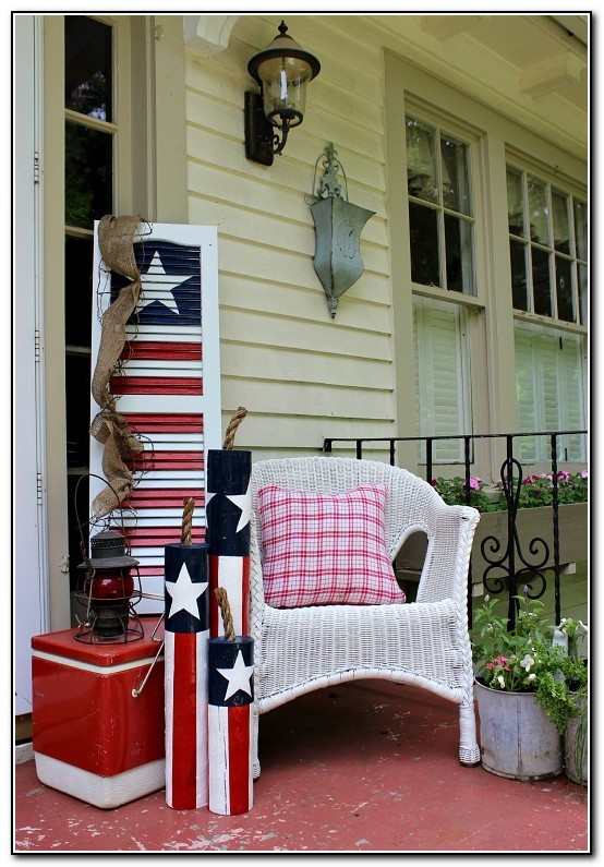 Front Porch Decorating Ideas On A Budget Porches Home