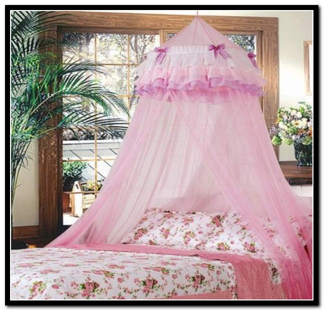 Full Size Canopy Bed Cover