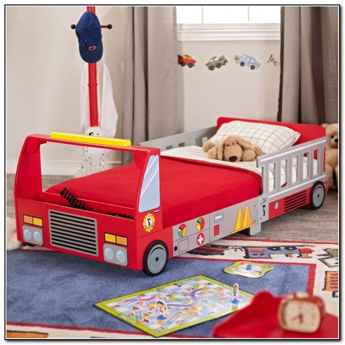 kidkraft toddler bed fire truck beds home design ideas kypz9jqqoq12468. Black Bedroom Furniture Sets. Home Design Ideas