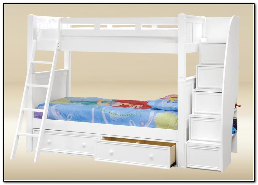Loft Beds With Stairs And Storage