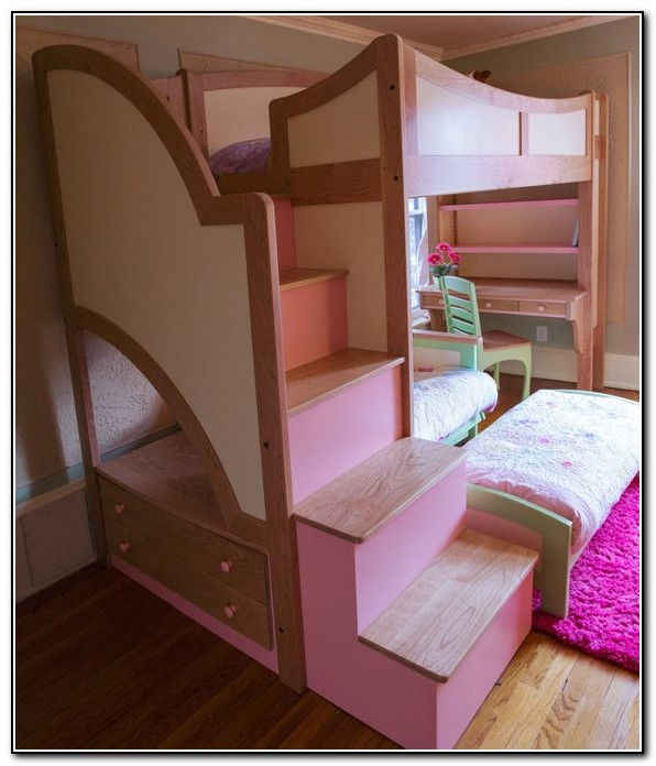 Loft Beds With Stairs For Girls