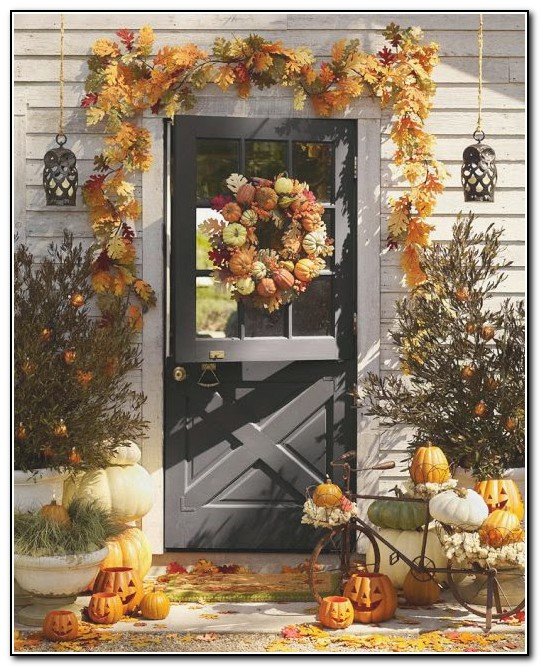 Porch Decorating Ideas For Fall