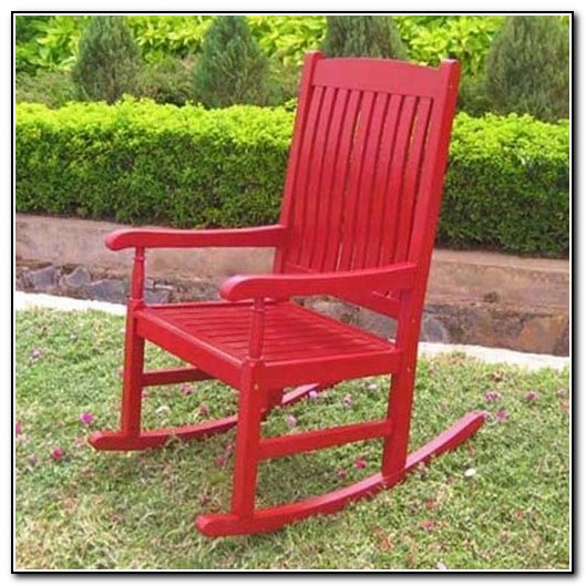 Red Rocking Chairs On Front Porch ~ Front porch rocking chairs porches home design ideas