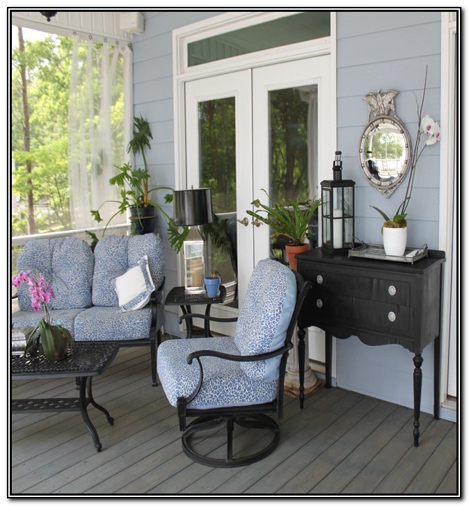 Screened In Porch Furniture