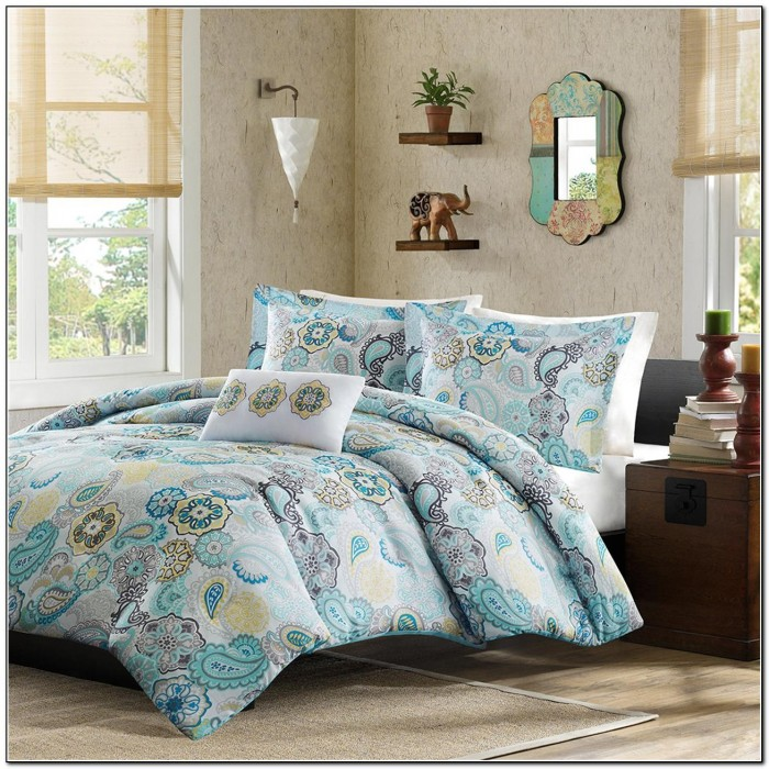 Teal Bedding Sets Double