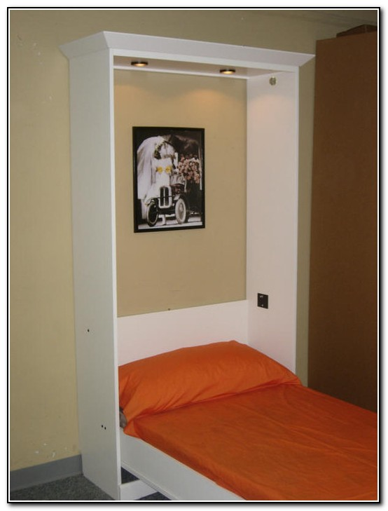 Two Twin Murphy Beds