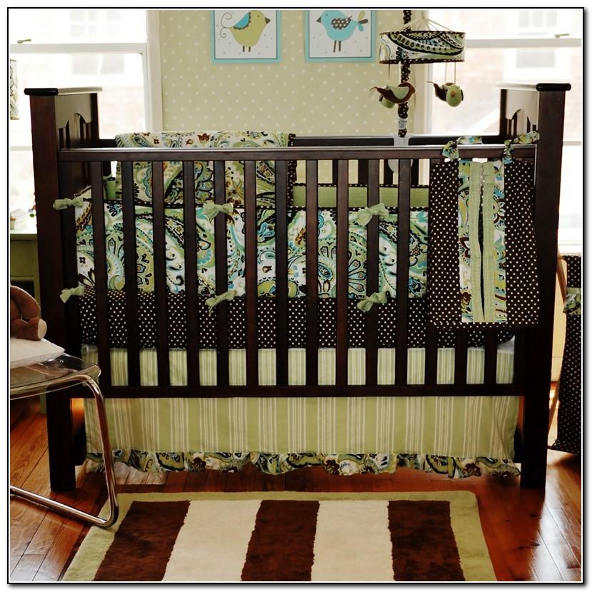 Unisex Paisley Baby Bedding