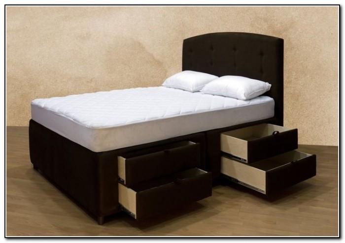 Upholstered Platform Bed With Storage
