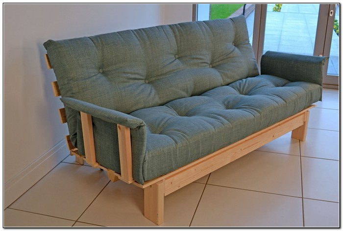 Futon Sofa Bed With Arms