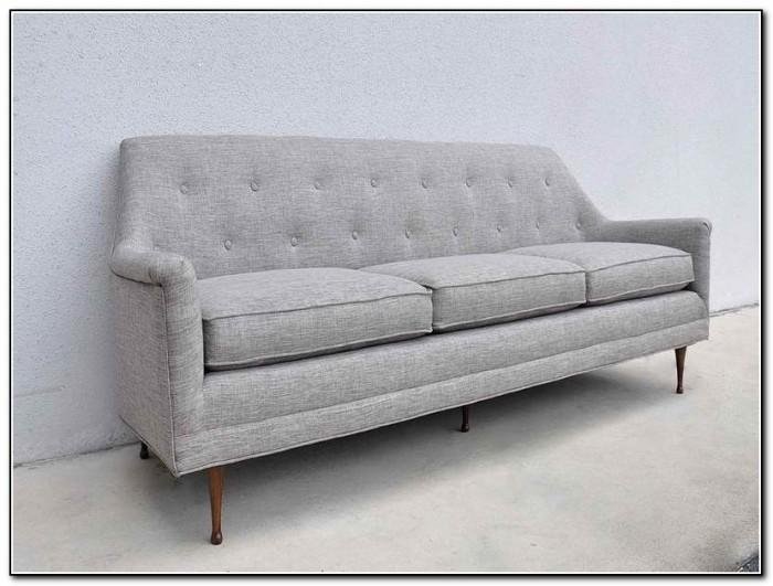 Macy's Mid Century Modern Sofa
