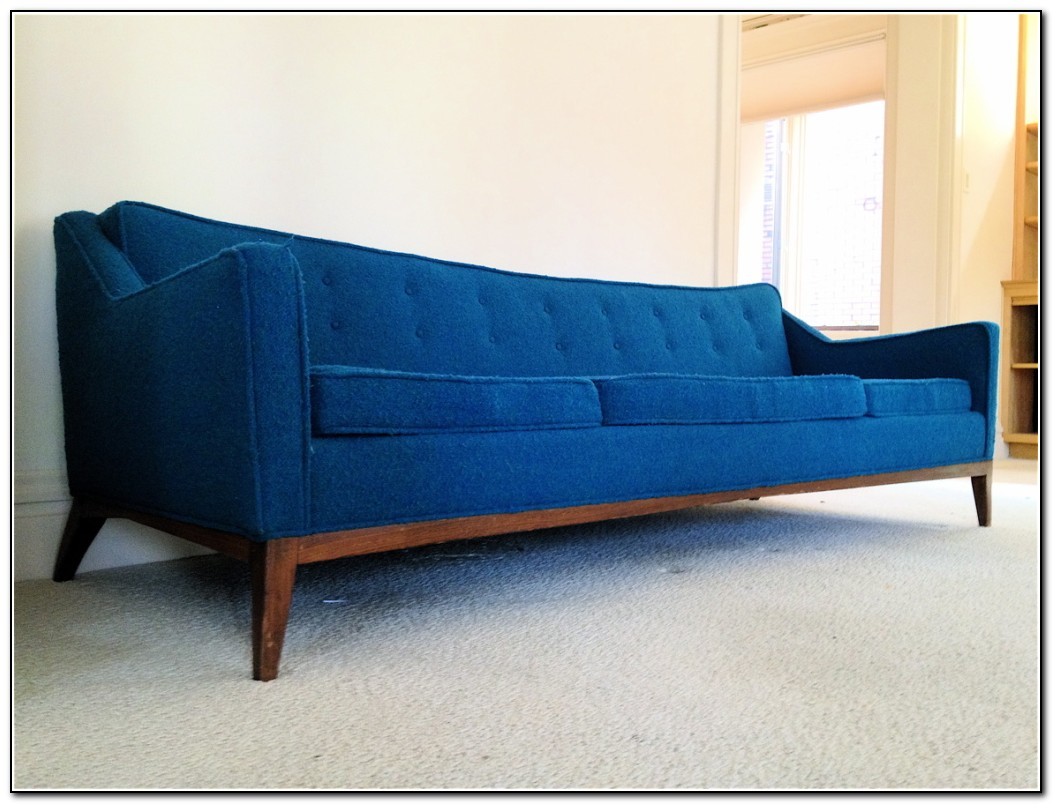 Mid century sofa bed sofa home design ideas for Mid century style bed