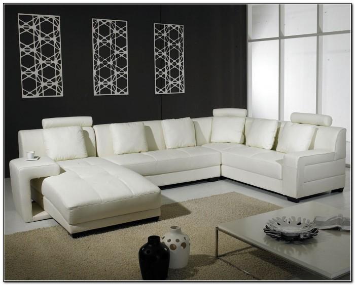 White Leather Sofa Texture