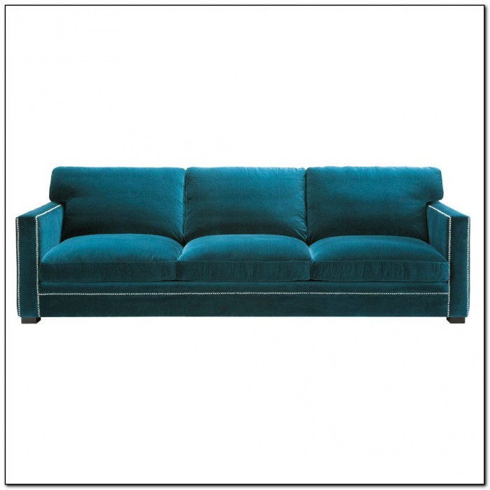 Blue Velvet Sofa Fabric