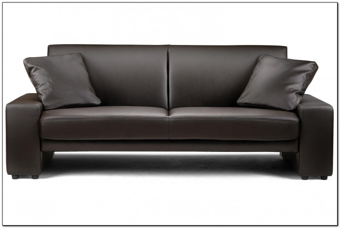 Brown Leather Sofa Living Room Design