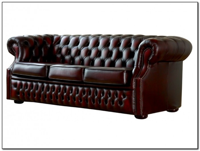 Chesterfield Leather Sofa Used